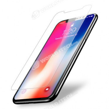 Film Protection Ecran Verre Trempé iPhone X 10 OLED AMOLED 5,8 pouces