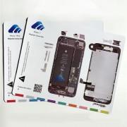 Patron magnétique guide range vis iPhone 8