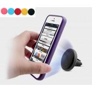 Support voiture grille aération aimanté iPhone samsung
