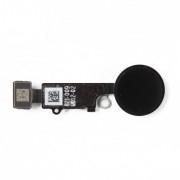 Bouton home complet avec nappe noir iPhone 7 / 7 Plus