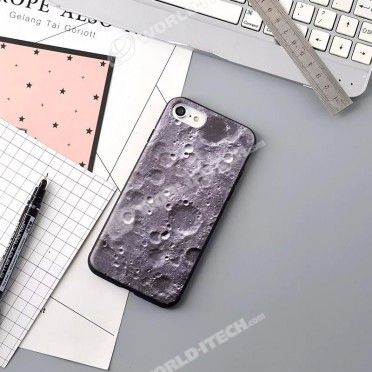 coque iphone 8 silicone lune