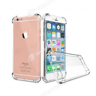 coque transparente silicone bords renforces iphone 6 plus 6s plus