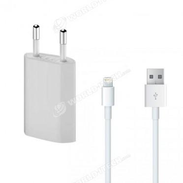 Chargeur secteur cable USB Lightning Origine