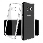 Coque transparente silicone invisible Samsung Galaxy S8 Plus