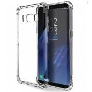 Coque transparente silicone bords renforcés Samsung Galaxy S9