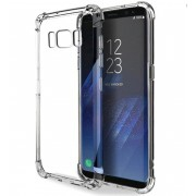 Coque transparente silicone bords renforcés Samsung Galaxy S8 Plus