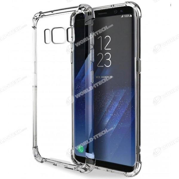Coque transparente silicone bords renforcés Samsung Galaxy S7 Edge