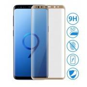 Film verre trempé intégral bords Or Samsung S8 Plus
