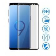 Film verre trempé intégral bords noir Samsung S9 Plus
