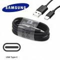 Cable chargeur USB Type-C Noir Samsung 1.2m 0