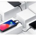 Batterie externe 8000mAh double USB avec chargeur sans fil 5