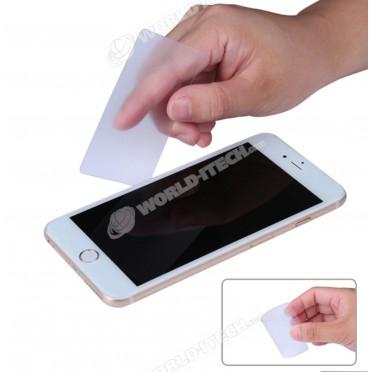 Carte fine souple pour décoller écran vitre arrière Smartphones / Tablettes samsung iphone huawei