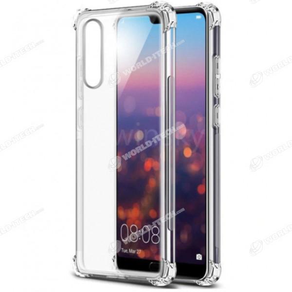 Coque transparente silicone bords renforcés Huawei P10 Lite