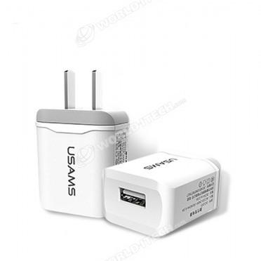 Chargeur adaptateur secteur 220V double USB 2.4A