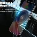 Support voiture grille aération aimanté recharge sans fil Qi Universel 1