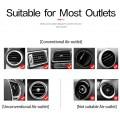 Support voiture grille aération aimanté recharge sans fil Qi Universel 7