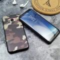Coque Silicone Camo Militaire Samsung S6 EDGE 2