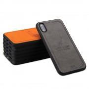 Coque Silicone Souple arrière doux tête de Cerf iPhone X / XS