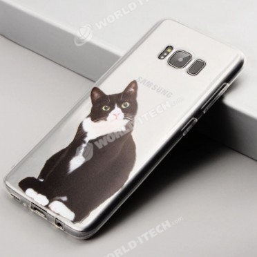coque samsung s9 silicone chat