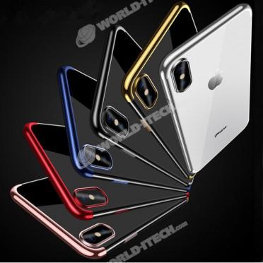 coque transparente silicone iphone xs