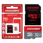 Carte mémoire Micro SD 32Go + Adaptateur SD