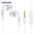 Ecouteurs intra-auriculaire blanc prise jack Samsung 0