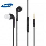 Ecouteurs intra-auriculaire noir prise jack Samsung