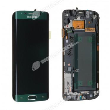 Ecran LCD ORIGINE avec chassis Samsung Vert S6 EDGE - Kit Outils OFFERT