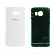 Vitre arrière blanche Samsung Galaxy S6 EDGE SM-G925F