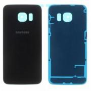 Vitre arrière Noir / Bleu marine Samsung Galaxy S6 EDGE SM-G925F