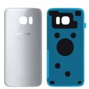 Vitre arrière gris argent Samsung Galaxy S7 EDGE SM-G935F