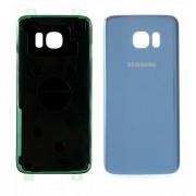 Vitre arrière bleu COMPATIBLE Samsung Galaxy S7 EDGE SM-G935F