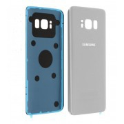 Vitre arrière Argent COMPATIBLE Samsung Galaxy S8 Plus SM-G955F