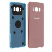 Vitre arrière Rose COMPATIBLE Samsung Galaxy S8 Plus SM-G955F