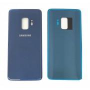 Vitre arrière Bleu COMPATIBLE Samsung Galaxy S9 SM-G960F