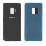 Vitre arrière Noir COMPATIBLE Samsung Galaxy S9 SM-G960F
