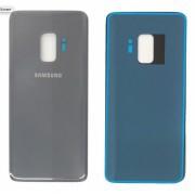 Vitre arrière Argent Gris COMPATIBLE Samsung Galaxy S9 Plus SM-G965F