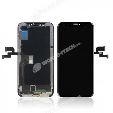 Ecran COMPATIBLE RETINA Noir iPhone X / 10 - Kit Outils OFFERT