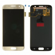 Ecran LCD ORIGINE Samsung Or Doré S7 SM-G930F - Kit Outils OFFERT