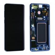 Ecran ORIGINE Samsung Bleu avec chassis S9 SM-G960F - Kit Outils OFFERT