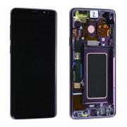Ecran ORIGINE Samsung Violet avec chassis S9 SM-G960F - Kit Outils OFFERT