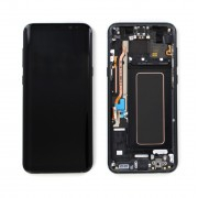Ecran ORIGINE Samsung Noir avec chassis S8 SM-G950F - Kit Outils OFFERT