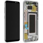 Ecran ORIGINE Samsung argent avec chassis S8 SM-G950F - Kit Outils OFFERT