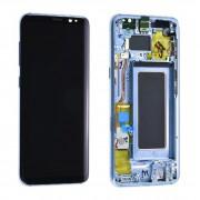 Ecran ORIGINE Samsung bleu avec chassis S8 SM-G950F - Kit Outils OFFERT