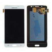 Ecran LCD ORIGINE Samsung Blanc A7 2016 - Kit Outils OFFERT