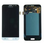Ecran LCD ORIGINE Samsung Blanc J3 2016 - Kit Outils OFFERT