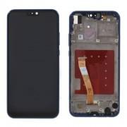 Ecran LCD ORIGINE Huawei Bleu avec chassis P20 Lite - Kit Outils OFFERT