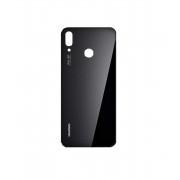 Vitre arrière Noir COMPATIBLE Huawei P20 Lite