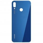 Vitre arrière bleu COMPATIBLE Huawei P20 Lite
