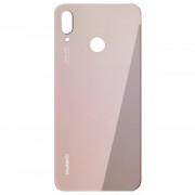 Vitre arrière rose saumon COMPATIBLE Huawei P20 Lite